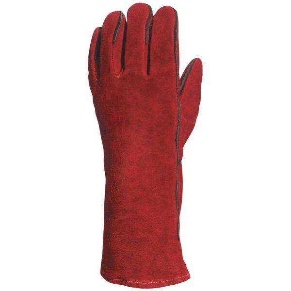 Heat Resistant leather hide welder's gloves