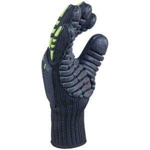 Anti-Vibration polyester reinforced gloves