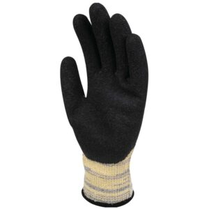 Heat Resistant latex coated knitted glove TAEKI