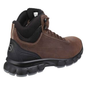 Puma Safety Boots CONDOR MID S3 SRC Brown