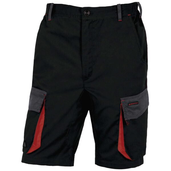 Polyester cotton D-MACH workers bermuda shorts