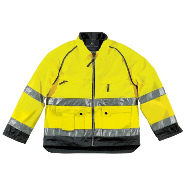 High Visibility workers jacket MACH cotton