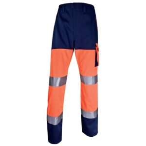 High Visibility work trousers MACH cotton polyester