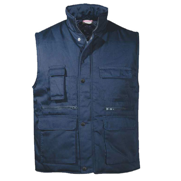 Work Vest with padding cotton BODY WARMER FAGEO